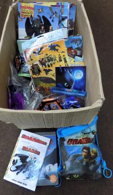 Large selection of 'How to train Your Dragon' items