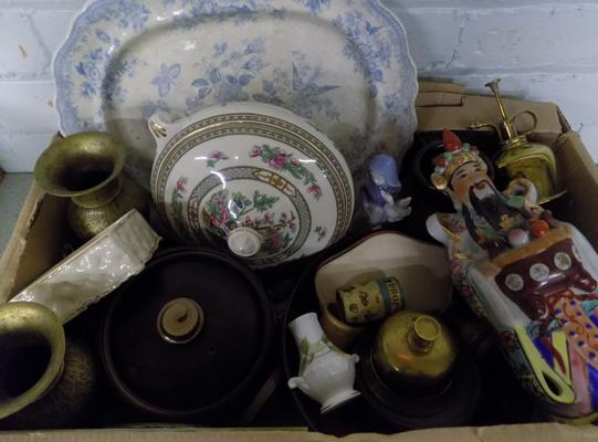 Collection of mixed items, incl. collectables & antiques