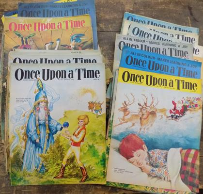 Assortment of Once-Upon-a-Time magazines, circa 1970