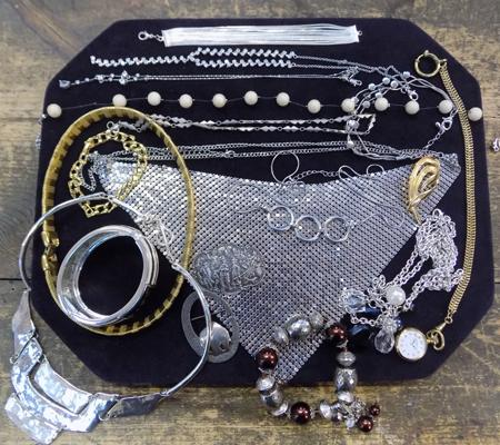 Good quality costume jewellery, mainly necklaces