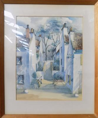 Original watercolour by George Duguid