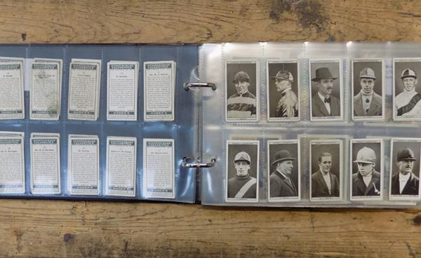 8 full sets of cigarette cards