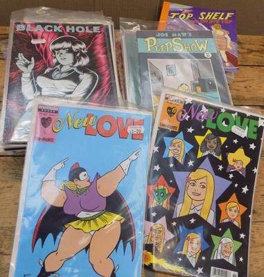 Large assortment of collectable comics