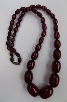 Pre-war bead necklace