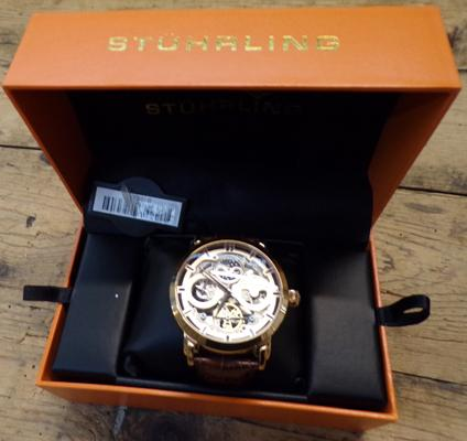 Men's Stuhrling original automatic watch - as new