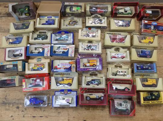 Large selection of boxed diecast incl. Lledo and Matchbox