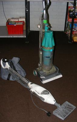 Dyson vacuum cleaner DC07 and Shark lift away vac