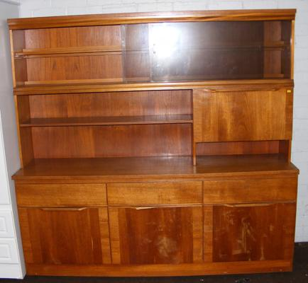 Retro sideboard and wall cabinet