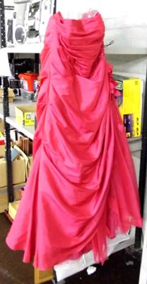 Pink bridesmaid/prom dress