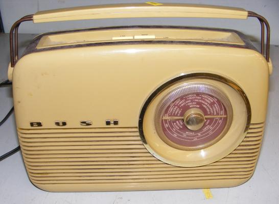 Bush radio (1950's) good working order