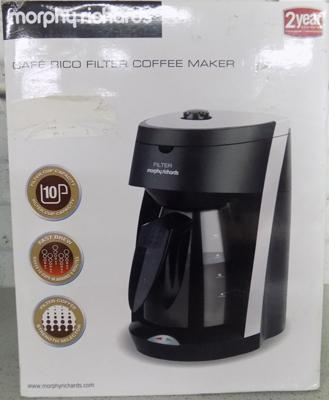 New coffee maker - Morphy Richards