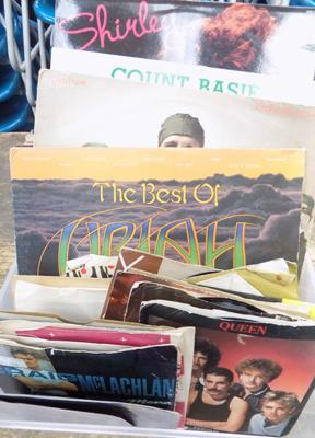 Records incl. Uriah Heap, Rainbow, Queen