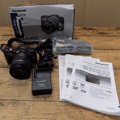 Lumix digital camera & accessories