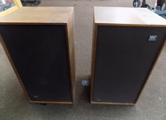 Pair of Wharfedale speakers