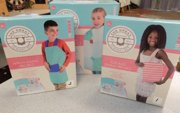 Three new Great British Sewing Bee craft sets