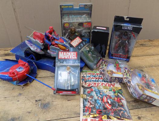 Assortment of Marvel toys - figures sealed