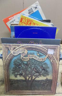 Box of LPs - some rare