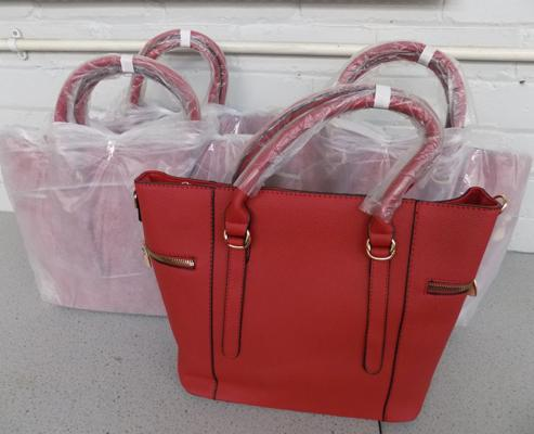 Four handbags - new
