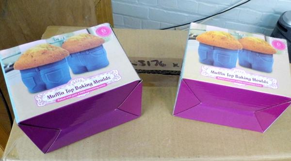 Box of 20 Muffin Top baking moulds