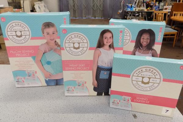 Four new Great British Sewing Bee craft sets