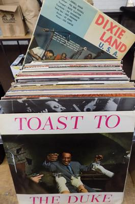 Box of 60 Jazz albums