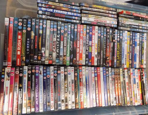 100+ DVDs in good condition