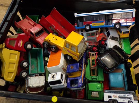 Collection of vintage boxed diecast vehicles Corgi/ Lesney