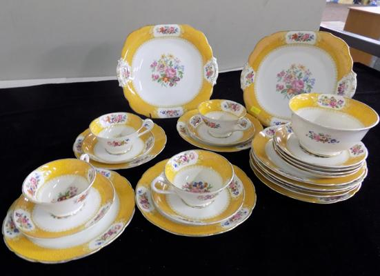 Alfred.B.Pearce & Co of London part tea-set