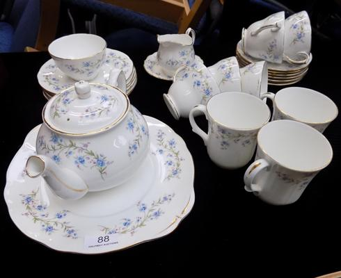 Duchess bone china 'Tranquility' teaset