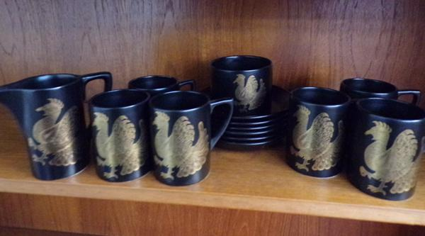 Portmeirion Phoenix coffee set
