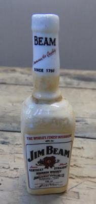 Royal Doulton miniature Jim Beam whisky bottle
