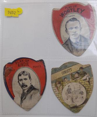 Victorian Rugby Baines cards