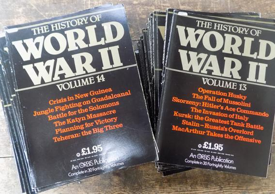 Volume 1 complete set 1-30 The History of WWII