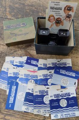 Viewmaster in box with films incl. Little Pigs