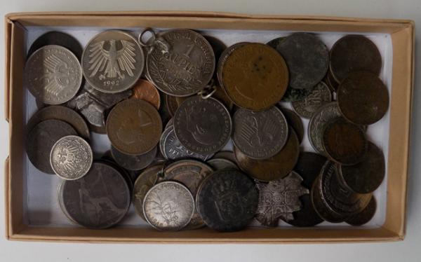 Assortment of collectable coins