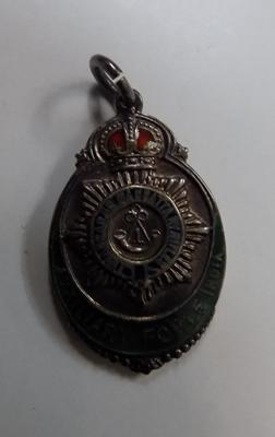 Silver Auxiliary forge India badge