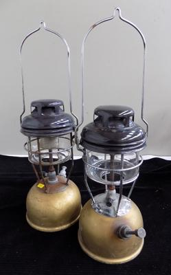 Pair of Tilley lamps