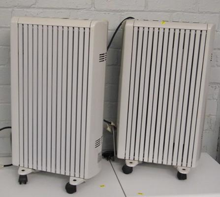 Two oil filled heaters - W/O