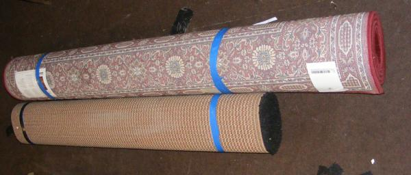 Pair of household rugs - good condition