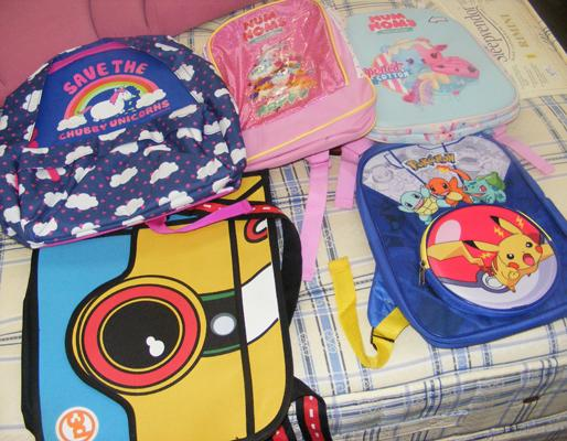 Childrens new bags