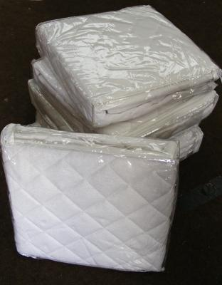Six new cot mattress toppers