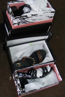 Selection of ladies shoes - new, boxed x 5