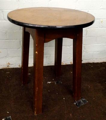 Small round pub table