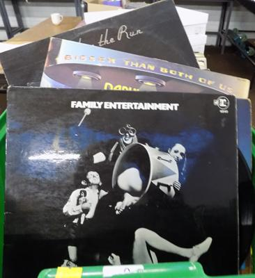 Box of LPs - some collectable