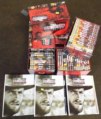 Clint Eastwood DVD and magazine collection