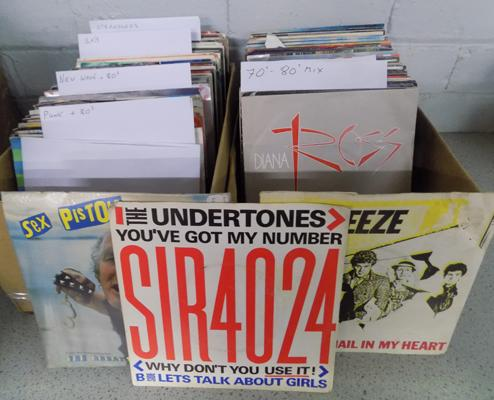 Collection of singles - Ska Punk, 1970s/80s