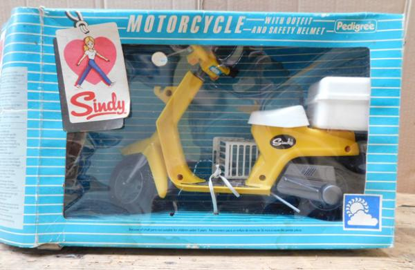 1960s Pedigree boxed Sindy motorcycle
