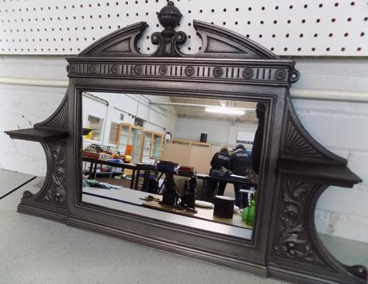 Cast iron over mantel mirror - bedroom size