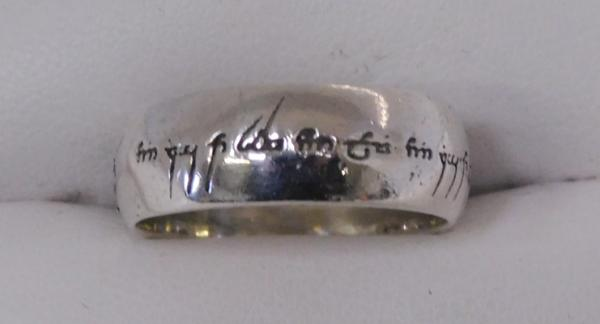 925 Silver Lord of the Flies ring size P3/4