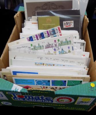 Large quantity of FDCs/presentation pack